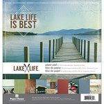 Paper House Productions - 12 x 12 Paper Pad - Lake Life