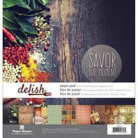 Paper House Productions - 12 x 12 Paper Pad - Delish