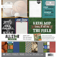 Paper House Productions - 12 x 12 Paper Pad - All Star