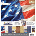 Paper House Productions - 12 x 12 Paper Pad - Let Freedom Ring