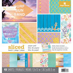 Paper House Productions - 12 x 12 Paper Pad - Sliced - Beach
