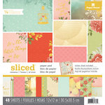 Paper House Productions - 12 x 12 Paper Pad - Sliced - Love