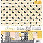 Paper House Productions - 12 x 12 Paper Pad - Be Happy