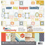 Paper House Productions - 12 x 12 Paper Pad - One Big Happy Family
