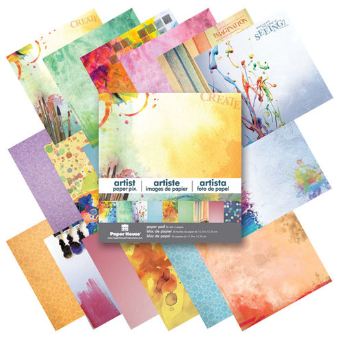 Paper House Productions - 6 x 6 Paper Pad - Artist