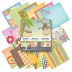 6 x 6 Paper Pad - Little Animals by Paper House Productions