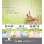 Paper House Productions - 6 x 6 Paper Pad - Rejoice