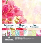 Paper House Productions - 6 x 6 Paper Pad - Blossom