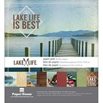 Paper House Productions - 6 x 6 Paper Pad - Lake Life