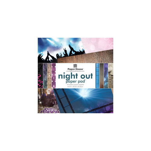 Paper House Productions - 8 x 8 Paper Pad - Night Out