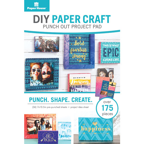 Paper House Productions - DIY Paper Craft - Project Pad - Frames