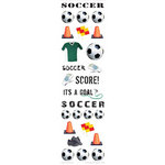 Paper House Productions - Soccer Collection - Rub Ons - Soccer