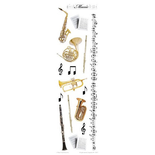 Paper House Productions - School Band Collection - Rub Ons - Music