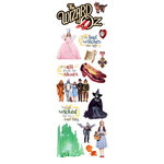 Paper House Productions - Wizard of Oz Collection - Glitter Rub Ons - Wizard of Oz