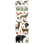 Paper House Productions - Glitter Rub Ons - Wildlife