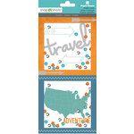 Paper House Productions - Shaker Cards - Road Trip