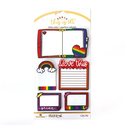 Paper House Productions - This Is Us Collection - Sticky Notes - Love is Love