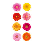 Paper House Productions - StickyPix Stickers - Gerberas