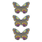 Paper House Productions - Cardstock Stickers - Mosaic Butterflies