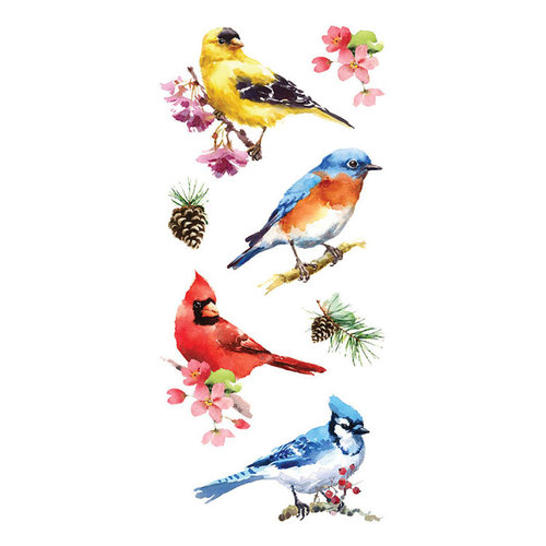 Paper House Productions - Stickers - Watercolor Birds
