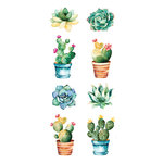 Paper House Productions - Cardstock Stickers - Succulents