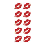 Paper House Productions - Cardstock Stickers - Lips 2