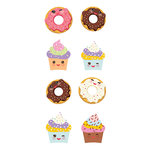 Paper House Productions - Cardstock Stickers - Sweet Treats