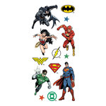 Paper House Productions - Clear Stickers - Justice League