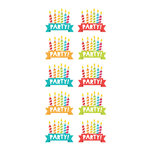 Paper House Productions - Clear Stickers - Birthday