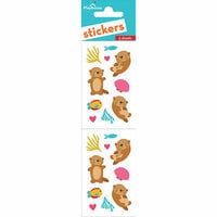 Paper House Productions - Cardstock Stickers - Otters
