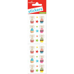 Paper House Productions - Cardstock Stickers - Birthday Cupcakes