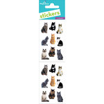 Paper House Productions - Cardstock Stickers - Mini Mixed Cats