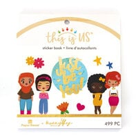 Paper House Productions - This Is Us Collection - Mini Sticker Book - Just Be You