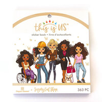 Paper House Productions - This Is Us Collection - Mini Sticker Book - Sugary Gal