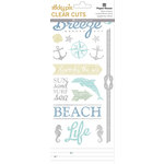 Paper House Productions - Clear Stickers - Beach