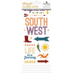 Paper House Productions - Southwest Adventure Collection - Clear Stickers