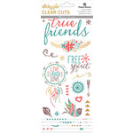 Paper House Productions - Clear Stickers - Bohemian - Friends