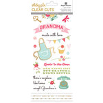 Paper House Productions - Clear Stickers - Grandma