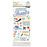 Paper House Productions - StickyPix - Clear Stickers - Adventure Awaits with Foil Accents