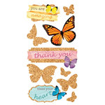Paper House Productions - Cork'd - Cork Stickers - Butterflies