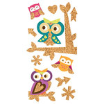 Paper House Productions - Cork'd - Cork Stickers - Owls