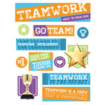 Paper House Productions - 3 Dimensional Stickers - Teamwork