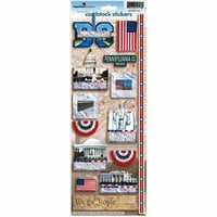 Paper House Productions - Washington DC Collection - Cardstock Stickers - Washington DC