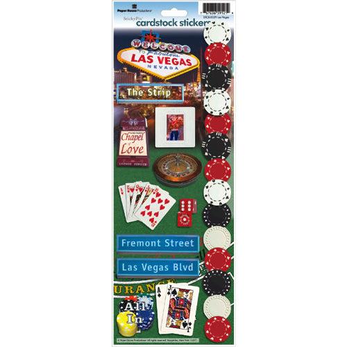 Paper House Productions - Las Vegas Collection - Cardstock Stickers - Las Vegas