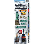 Paper House Productions - New York City Collection - Cardstock Stickers - New York City