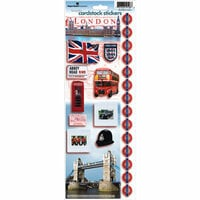 Paper House Productions - London Collection - Cardstock Stickers - London
