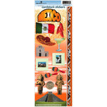 Paper House Productions - Mexico Collection - Cardstock Stickers - Mexico