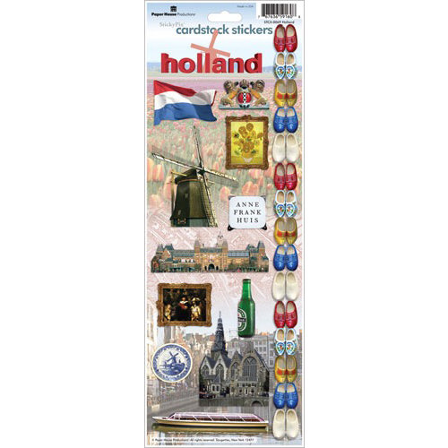Paper House Productions - Holland Collection - Cardstock Stickers - Holland