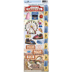 Paper House Productions - Carnival Collection - Cardstock Stickers - Carnival