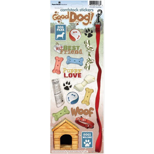 Paper House Productions - Dog Collection - Cardstock Stickers - Good Dog